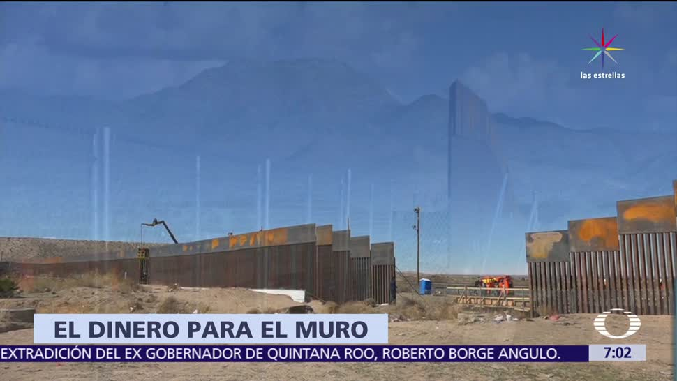Televisa News Camara Autoriza Muro Trump