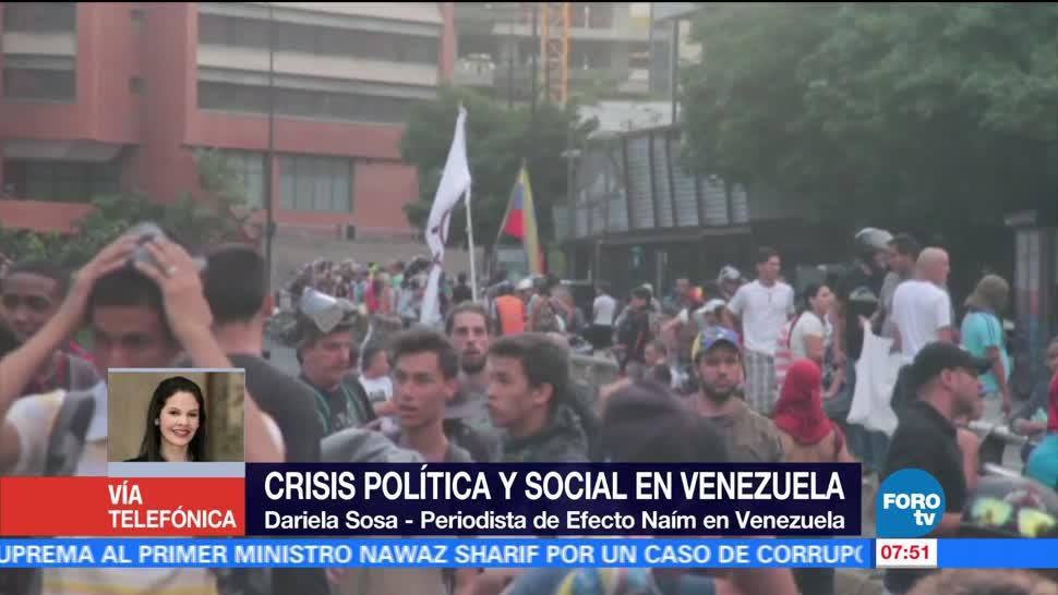 Televisa News Crisis Politica Social Venezuela