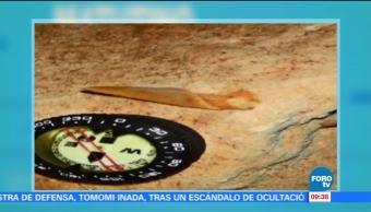 Televisa Noticias Hallan Dientes,Tiburon Prehistorico