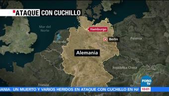 Muere Persona Ataque Cuchillo Supermercado Alemania