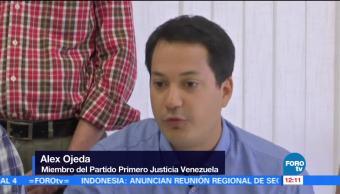 Oposicion Venezuela Pide Pronunciamiento Madrid Espana