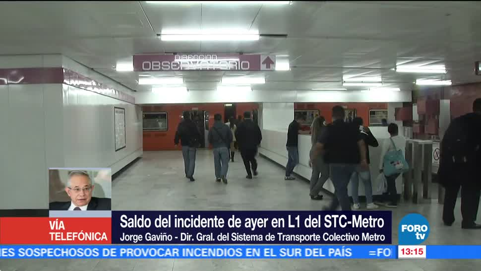 Metro Cdmx Espera Dictamen Falla Juanacatlan Jorge Gavino