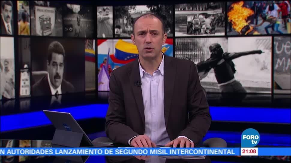 Cancillería pide mexicanos evitar viajar Venezuela