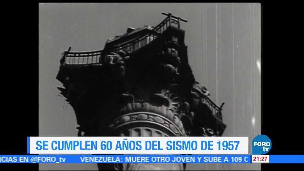 Se cumplen 60 años sismo 1957