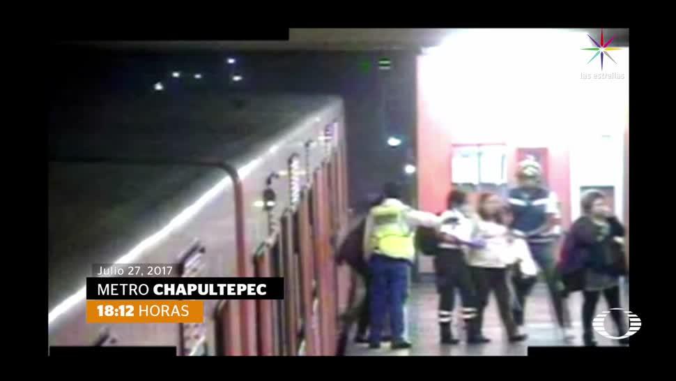 Testimonios usuarios atrapados Metro de CDMX