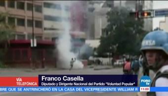 Policías, disuelven, concentraciones, Venezuela