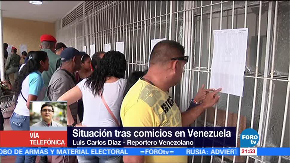 Impacto internacional de Constituyente de Venezuela