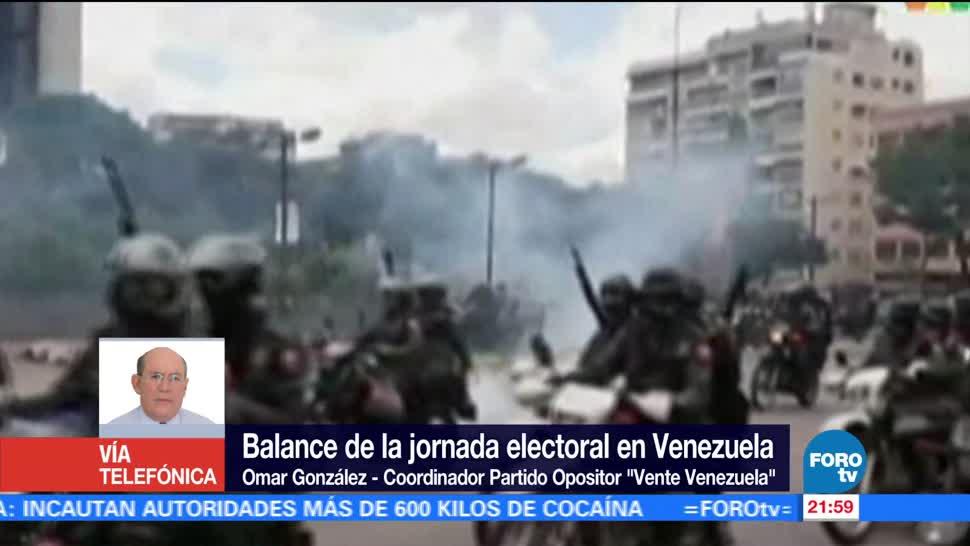 Opositor describe jornada votación en Venezuela