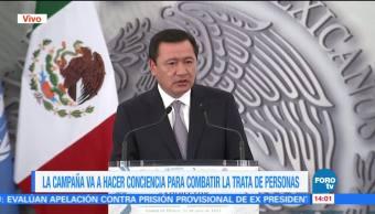 Osorio Chong Encabeza Lanzamiento Campaña Contra La Trata
