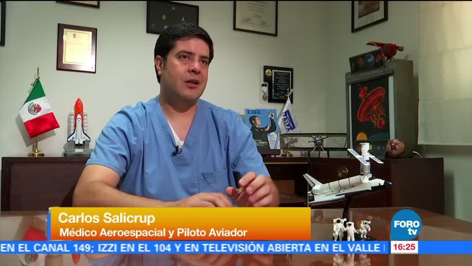Entrevista Medico Aeroespacial Mexicano Carlos Salicrup