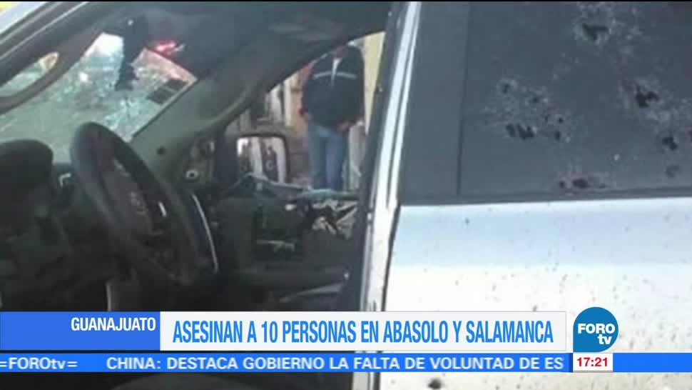Asesinan Guanajuato Personas Ultimas Horas Abasolo Salamanca Guanajuato