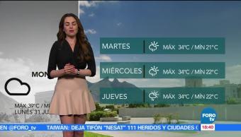 El clima de Las Noticias con Mayte Carranco