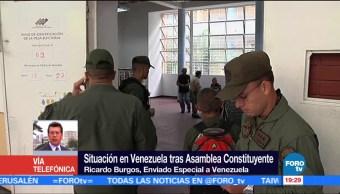 Persisten protestas resultados Asamblea Constituyente Ricardo Burgos