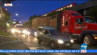 Trailer Atora Circulaba Avenida Viaducto CDMX