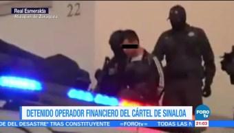 Detienen Operador Financiero Cartel De Sinaloa
