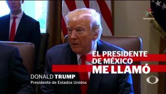 Trump Presume Felicitacion EPN Presidencia Niega