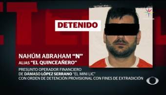 Detenido Quinceanero Operador Financiero Mini Lic