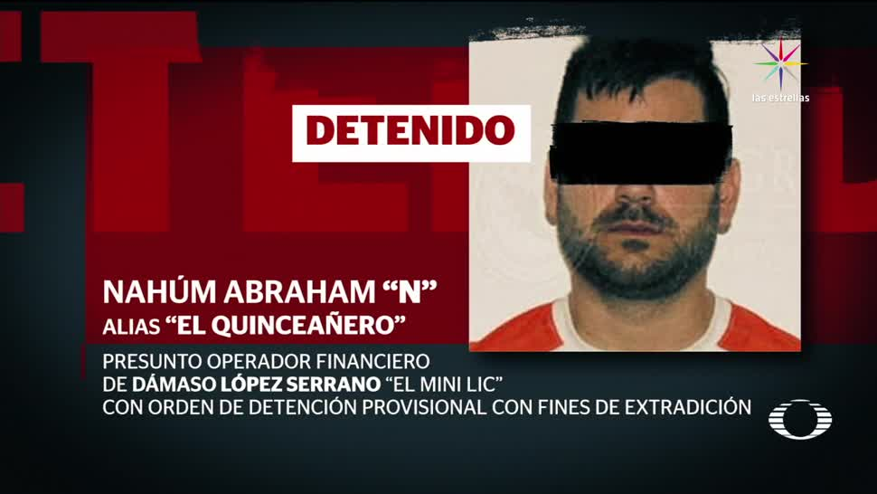 Detenido Quinceanero Operador Financiero Mini Lic
