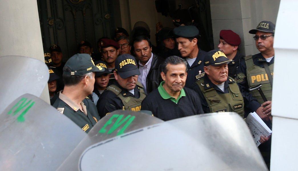 Justicia, Perú, Ollanta Humala, prisión, Nadine Heredia, corrupción