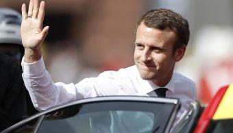 Presidente francés, Emmanuel Macron, Francia, tour de francia, parís