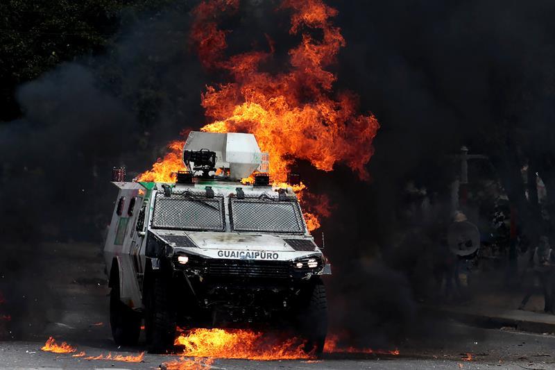 Muertos Abstencion Durante Votacion Constituyente Venezuela