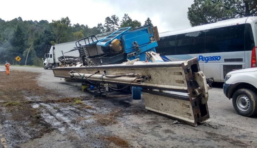 Accidente Vial, Carretera mexico Toluca, Estado De Mexico
