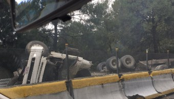 Accidente múltiple en la México- Cuernavaca. (Twitter David Martínez)