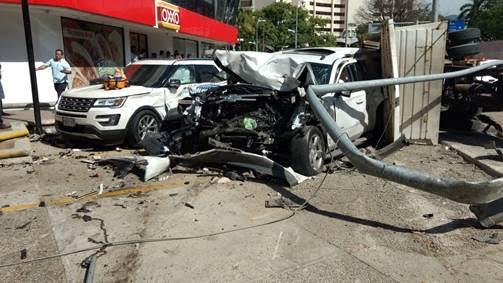 accidente multiple deja cinco lesionados en acapulco