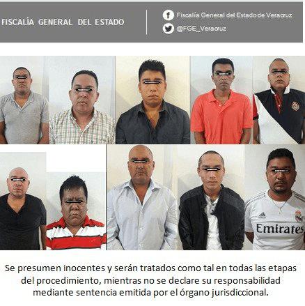 Darán prisión preventiva a presuntos asesinos de mando de PF en Veracruz