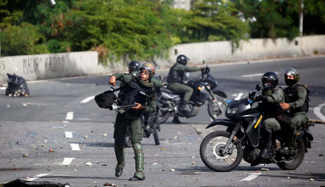 Crisis, Caracas, protestas, explosión, militares, Maduro,
