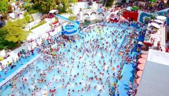 balnearios, Ciudad de México, Parque Acuático, vacaciones, verano, Agua Hedionda