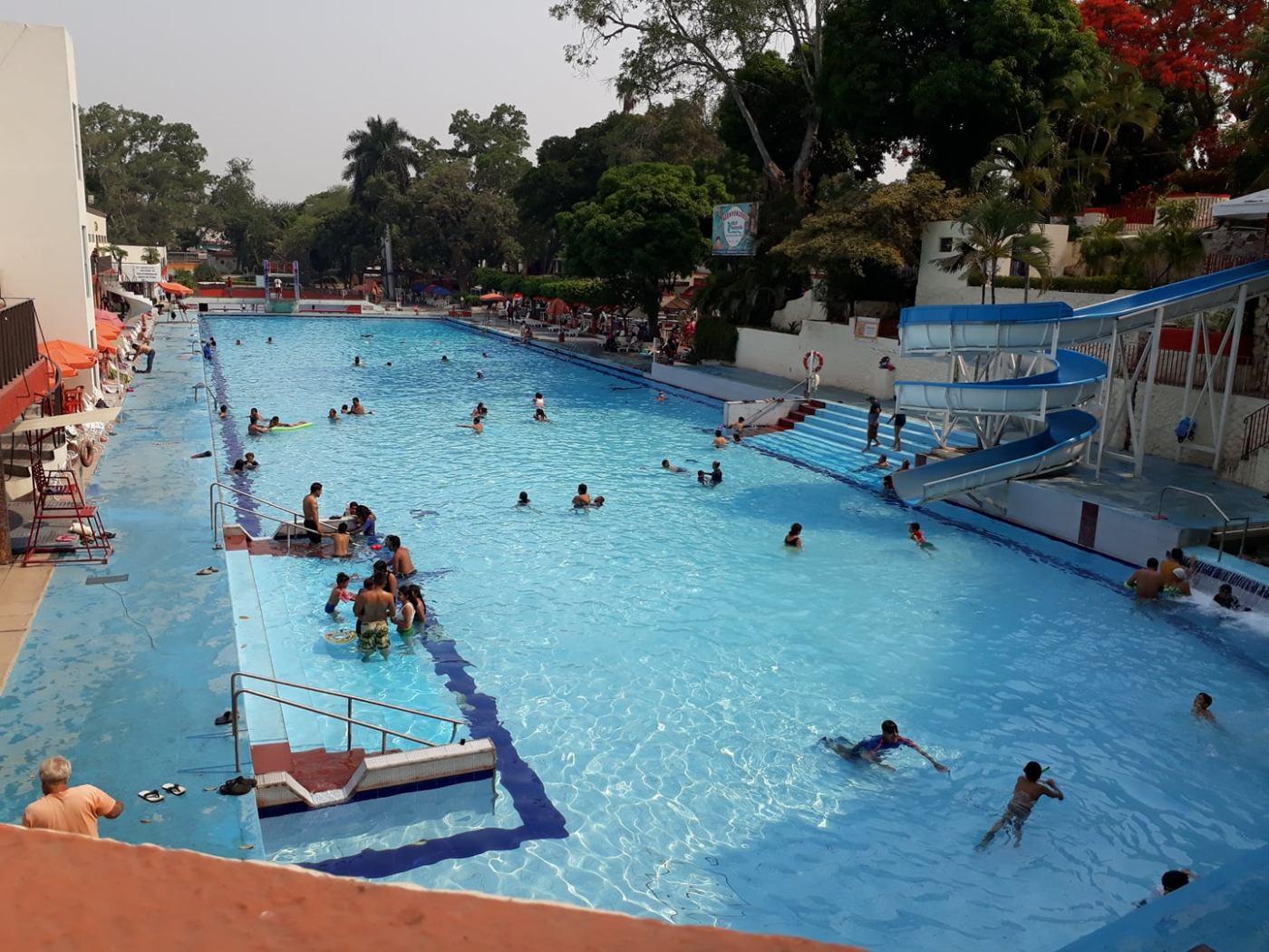 balneario agua hedionda, Cuautla, Morelos, vacaciones, parque acuático