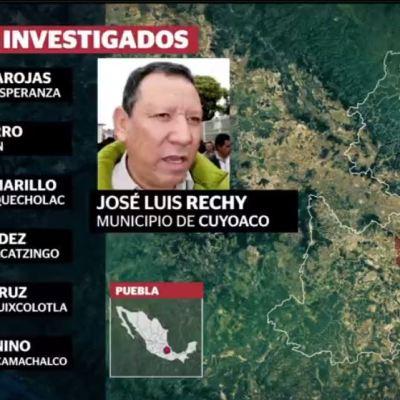 Investigan a 12 alcaldes de Puebla vinculados al robo de combustible
