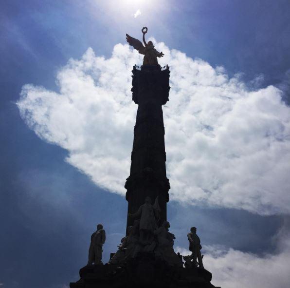 Sesenta años sismo tiro Angel Independencia