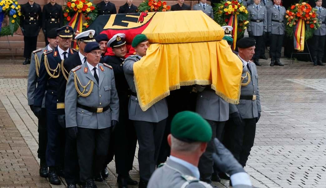Funeral, Helmut Kohl, ataúd, Alemania, Speyer