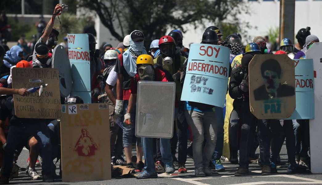 Protestas, opositores, Venezuela., manifestaciones, enfrentamientos, nicolás maduro