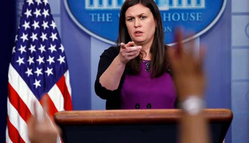 Portavoz de la Casa Blanca, Sarah Sanders, Casa Blanca, vocera