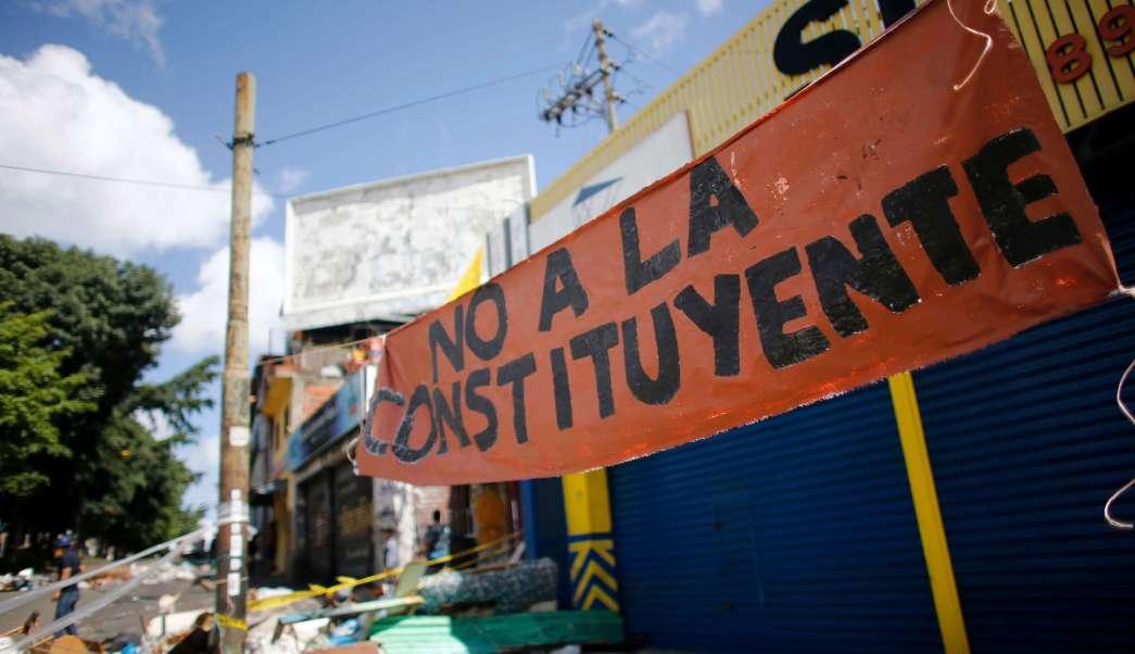 Oposicion Venezolana Llama Concentracion Constituyente Calles