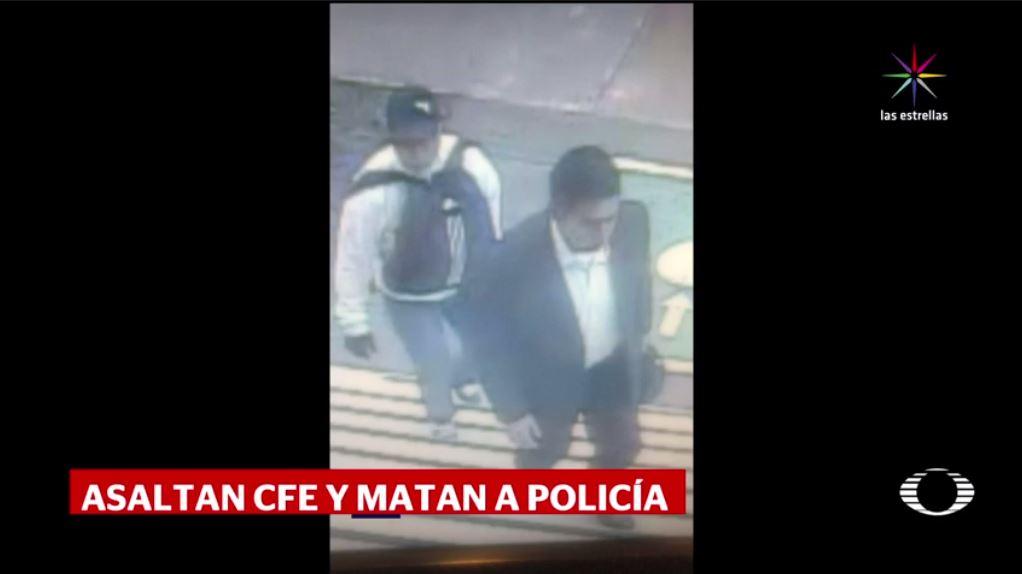 Policía Auxiliar, asalto, CFE, Culhuacán, Coyoacán, muere policía