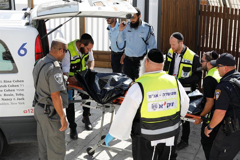 Jerusalén, Israel, ataque, policías, terrorismo, seguridad
