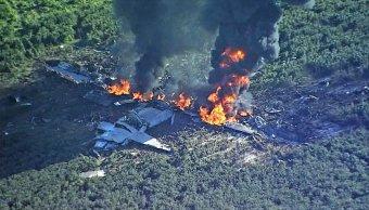 Avión militar, 16 muertos, Mississippi, Estados Unidos, accidente aéreo, seguridad