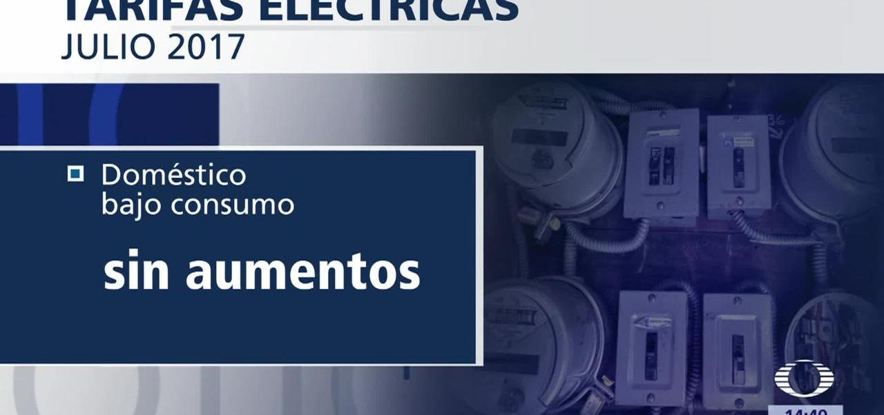 Bajan, tarifas eléctricas, alto consumo doméstico en julio