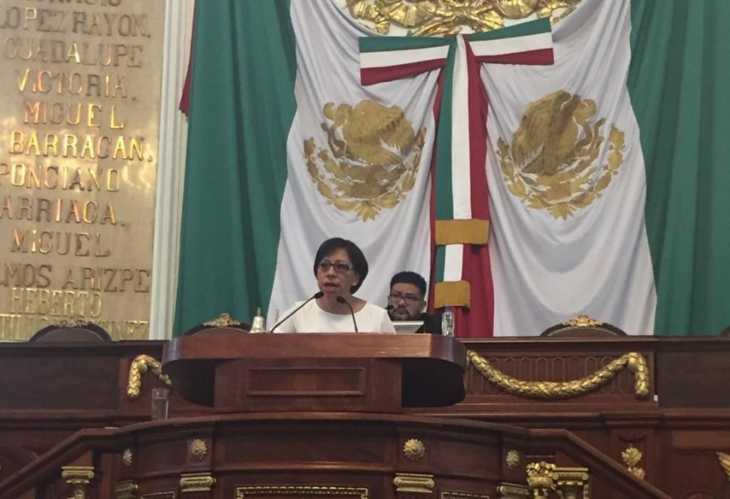 Beatriz Rojas, diputada de Morena de la ALDF. (Twitter Beatriz Rojas)