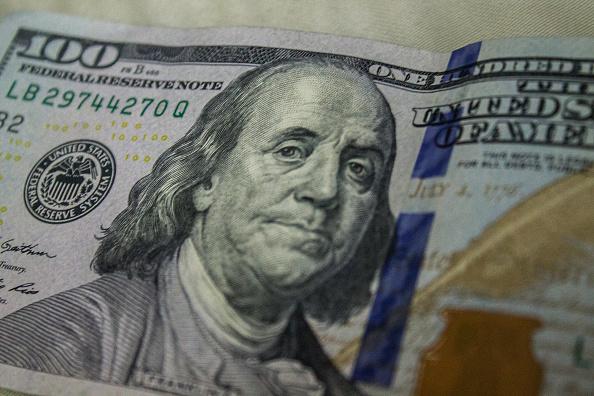 Billete de 100 dólares de Estados Unidos