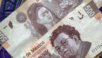 Billetes mexicanos con valor de 500 pesos