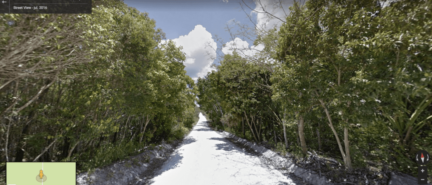 Riviera maya, Google, google street view,