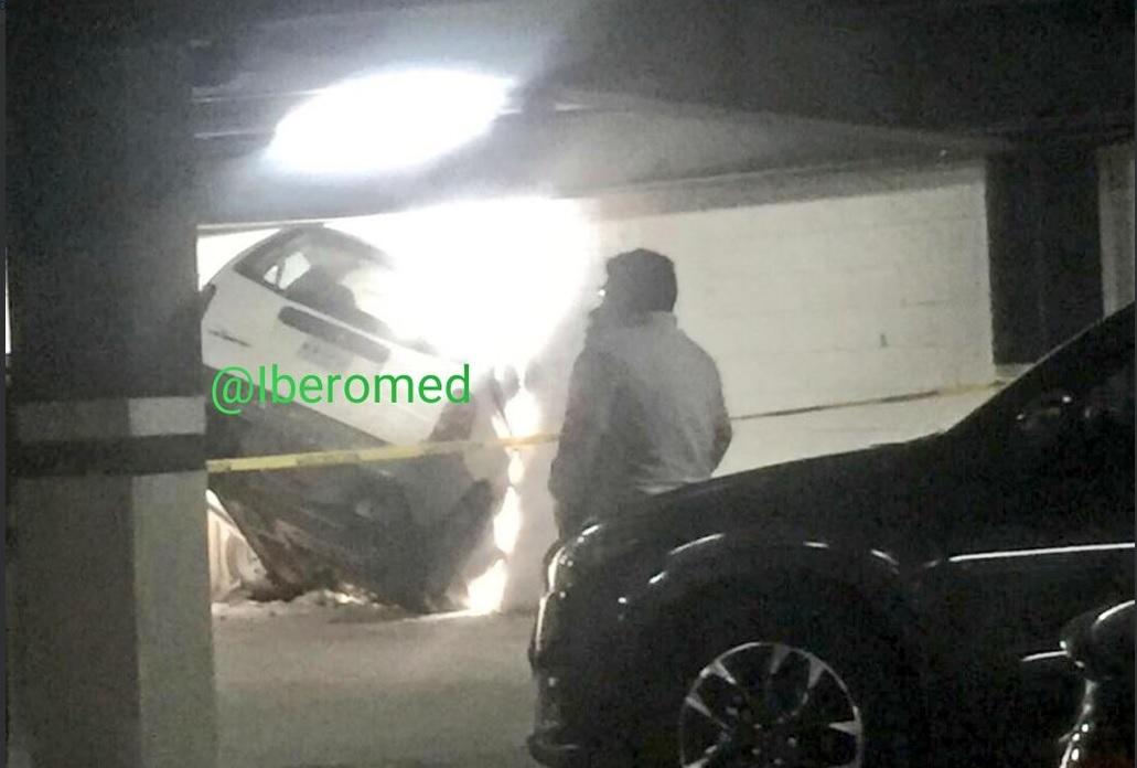 Camioneta Accidentada, Accidente, Bosque de Las Lomas, Cdmx, Rescate