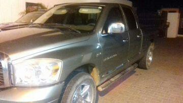 Camioneta con reporte de robo recuperada en Mazatlán, Sinaloa