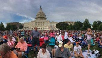 Día de Independencia, Estados Unidos, Washington, Capitolio, concierto, 4 de julio