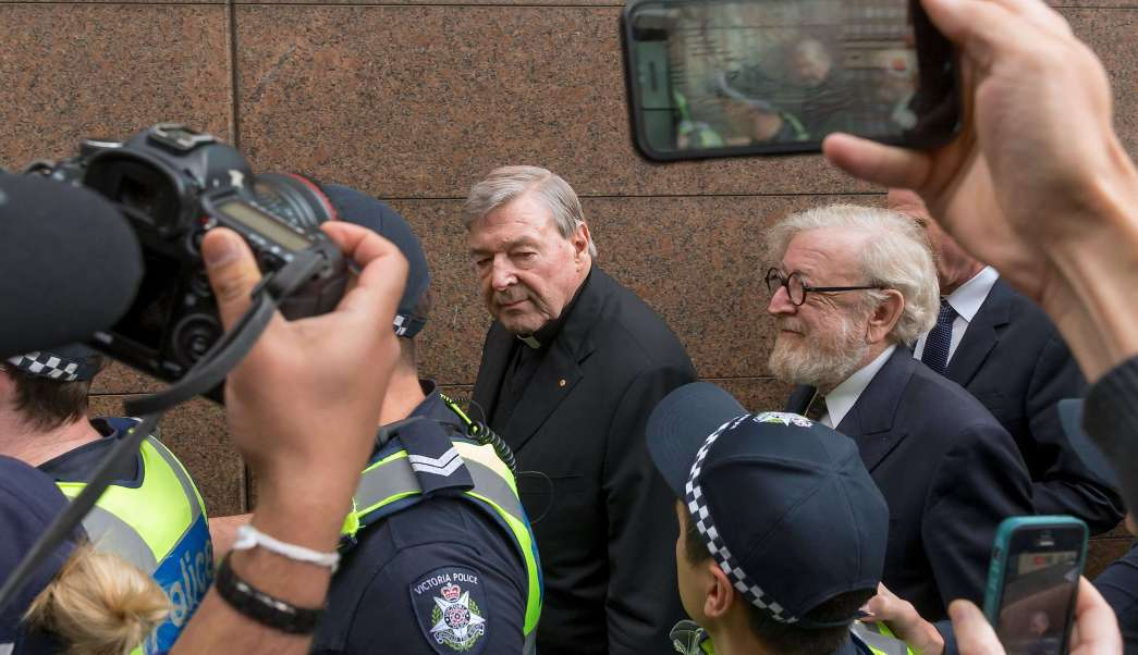 Cardenal George Pell Niega Abuso Sexual Tribunal Australia